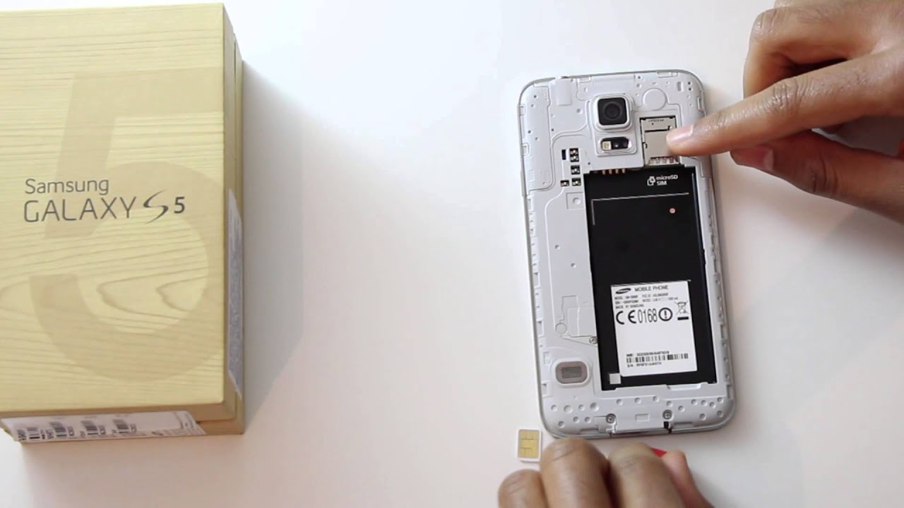 What Sim Card does the Samsung Galaxy S5 use? - YouTube
