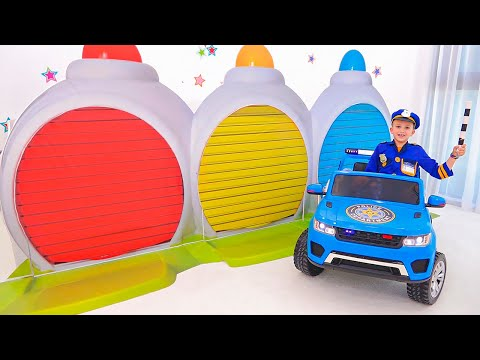 سيارات الألعاب - مقاطع فيديو مضحكة للأطفال