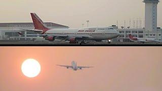 Take off & Landing Cochin International Airport