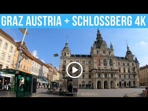 Graz Austria 4K Walking Tour