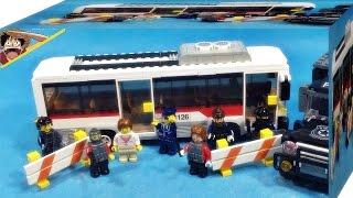 Oxford town swat st33317 bus chase 시티 투어 버스 조립 리뷰 옥스포드 타운 스와트 특수경찰과 테러범