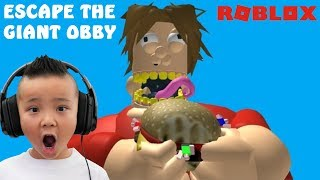 Escape The Fat Giant Guy Obby Roblox CKN Gaming