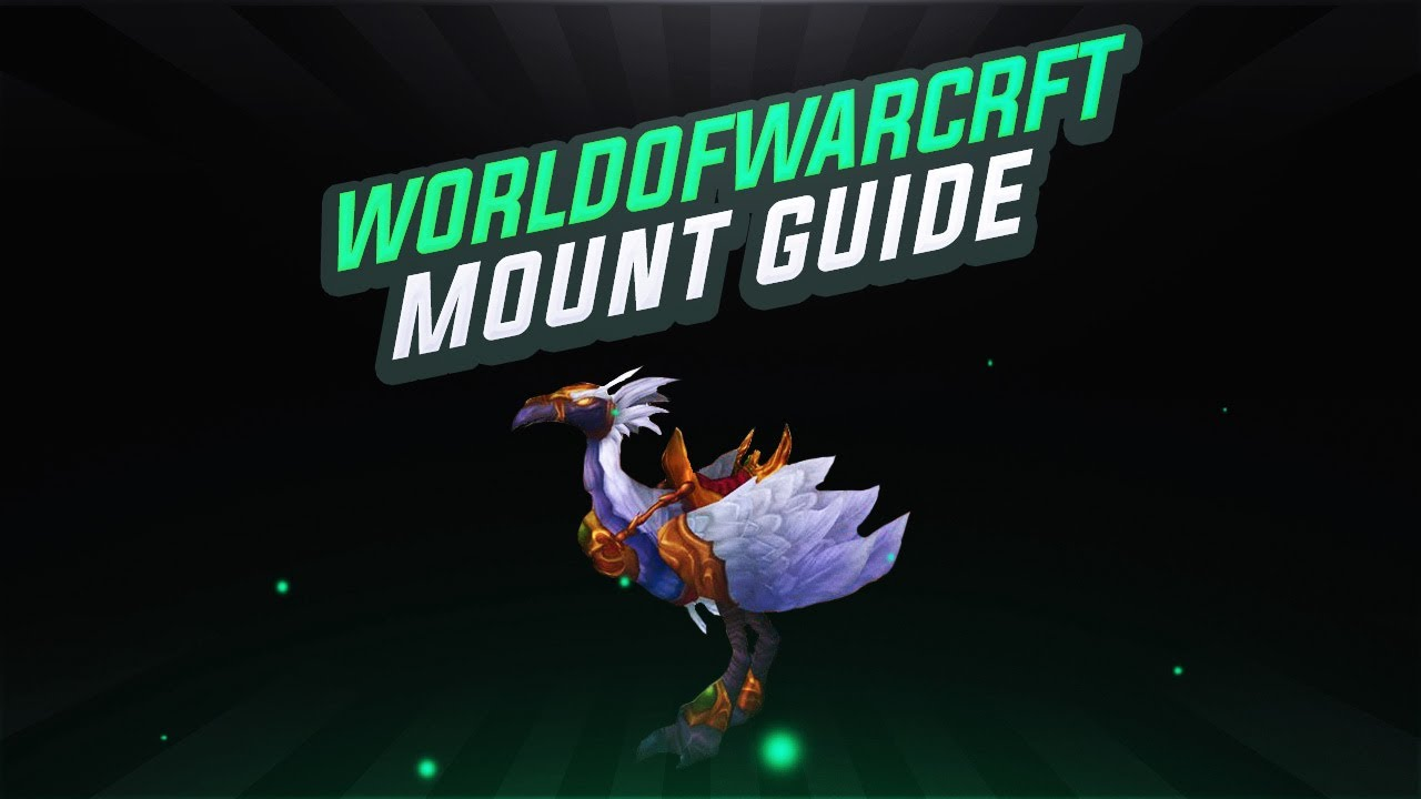 World Of Warcraft Mount Guide Terrasse Der Magister Schneller