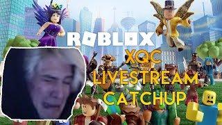 xQc spielt Roberwatch und bekommt den Saft ( Overwatch / Roblox) - Wir gehen Agane!!