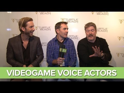 """""""I'd Punch Kevin Spacey In The Crotch"""" - Nolan North, Troy Baker, John DiMaggio"""