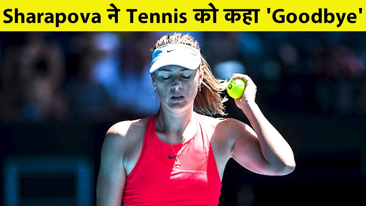 Maria Sharapova, a five-time Grand Slam winner, retires at age 32