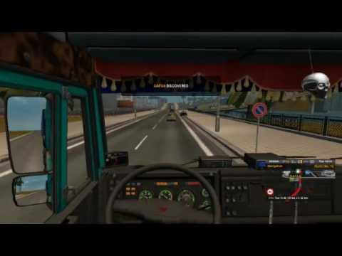 Somewhere in northern Africa.. Euro truck Simulator 2.