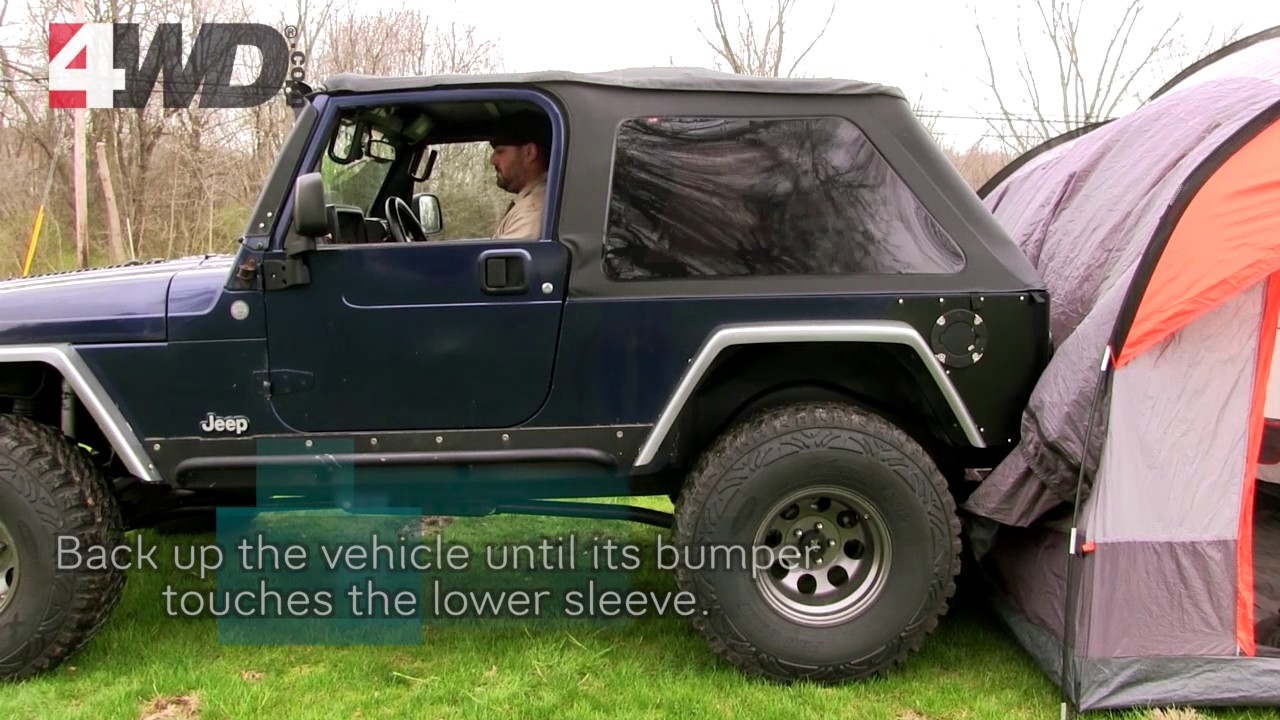 Rightline SUV Tent & Rightline SUV Tent - YouTube