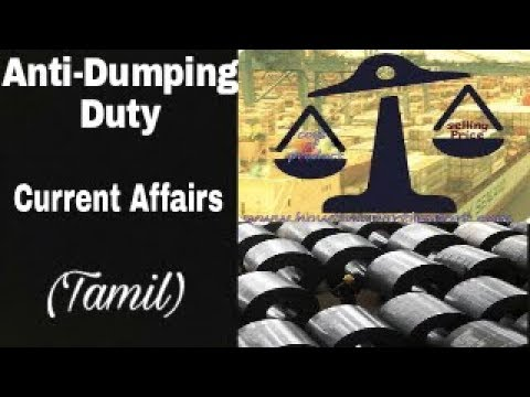 Anti-Dumping Duty Current Affairs in Tamil for UPSC