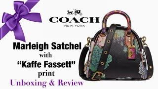 Marleigh Satchel with Kaffe Fassett Print | UNBOXING AND REVIEW