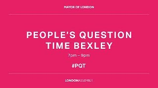 People's Question Time - Bexley