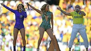 Repeat youtube video We Are One (Ole Ola) World Cup Jennifer Lopez, Pitbull, Claudia Leitte (HQ)