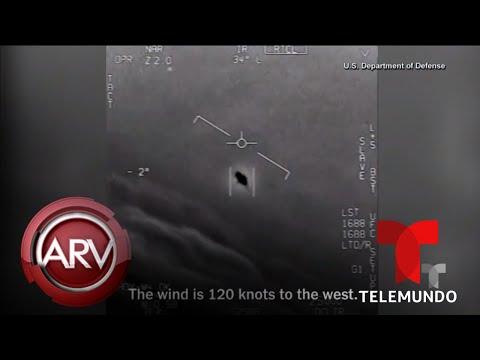 Marina de EEUU confirma la existencia de ovnis mediante videos | Al Rojo Vivo | Telemundo