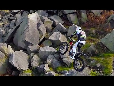 Riding with Trials Bike Legend Dougie Lampkin