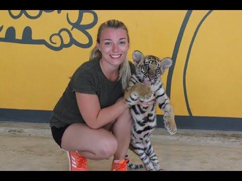 Sriracha Tiger Zoo | Thailand Trip | GoPro & DJI