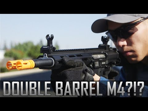 EXCLUSIVE FIRST LOOK: The World's First Double Barreled AEG! Classic Army DT4 - Airsoft GI