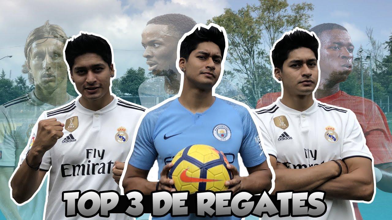 TOP 3 REGATES EFECTIVOS edición CHAMPIONS LEAGUE, MANCHESTER CITY VS REAL MADRID | Jugadas de Fútbol