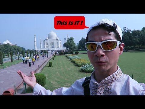India travel walkthrough (part 5, episode 19) The Taj Mahal !