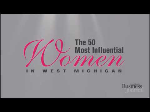 50 Most Influential Women in West Michigan - 2018