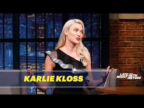 Karlie Kloss Has Cracked the Talk Show Host Code