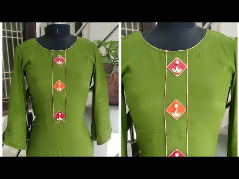 Latest and Beautiful Party Wear Neck Design with Piping cutting and Stitching || Reet Designs
