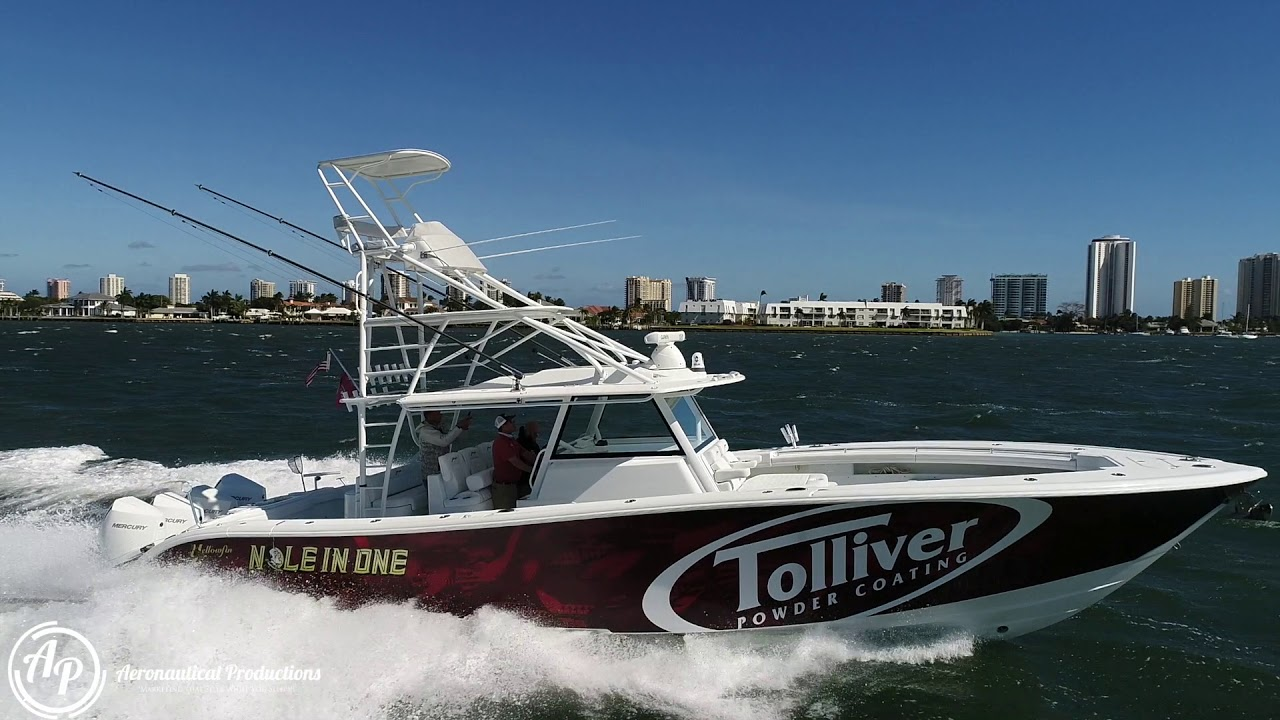 YELLOWFIN 42 GETS THE DRONE SPECIAL