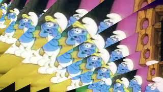 Smurfs jokey's funny bone colorful funny