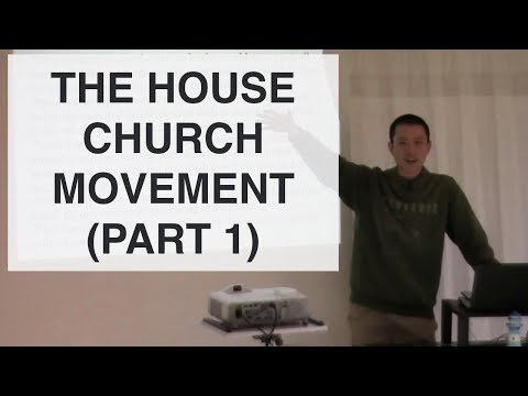 The House Church Movement 1 (Buildings, Property, Abuse of Power, Tithing) | Victor Tey