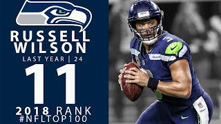 #11: russell wilson (qb, seahawks) | top 100 players of 2018 | nfl