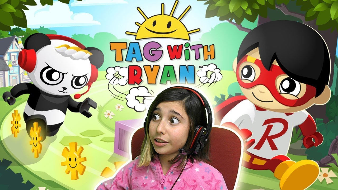 Tag With Ryan Endless Runner gameplay