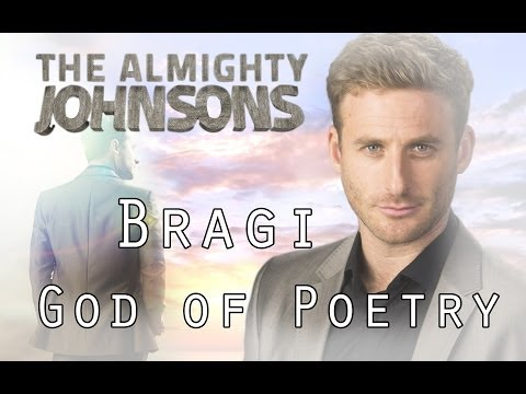 Anders Johnson  Bragi, God of Poetry