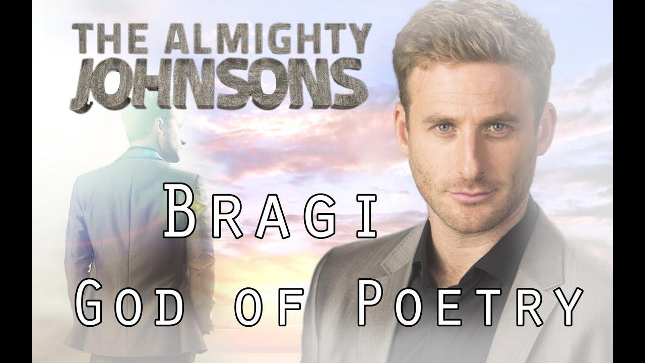 Anders Johnson   Bragi, God of Poetry