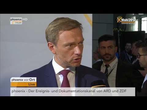 NRW wählt: Christian Lindner im Interview zum Wahlausgang am 14.05.2017