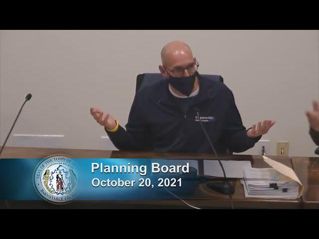 Planning Board 10-20-21