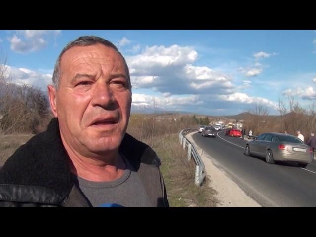 Кола блъсна и уби жена край Баня