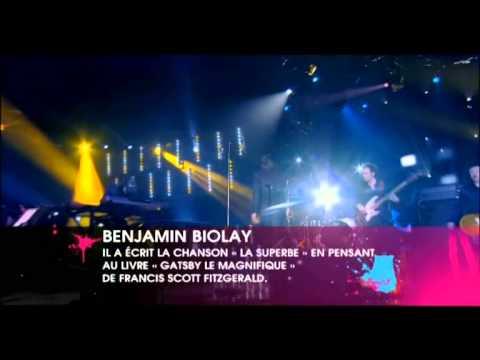 """Benjamin Biolay - """"La superbe"""" Les Victoires de la Musique 2010"""