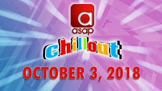 ASAP Chillout BTS - October 3, 2018