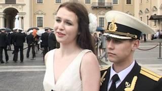 видео: Выпуск офицеров флота в военно-морских институтах 2011