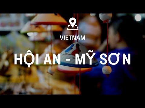 Tháp Chàm - Hội An - Mỹ Sơn // Traveling by train through Vietnam