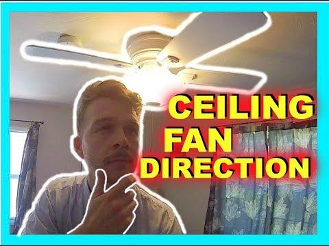 Ceiling fan direction summer vs winter jonny diy youtube ceiling fan direction summer vs winter jonny diy aloadofball Gallery