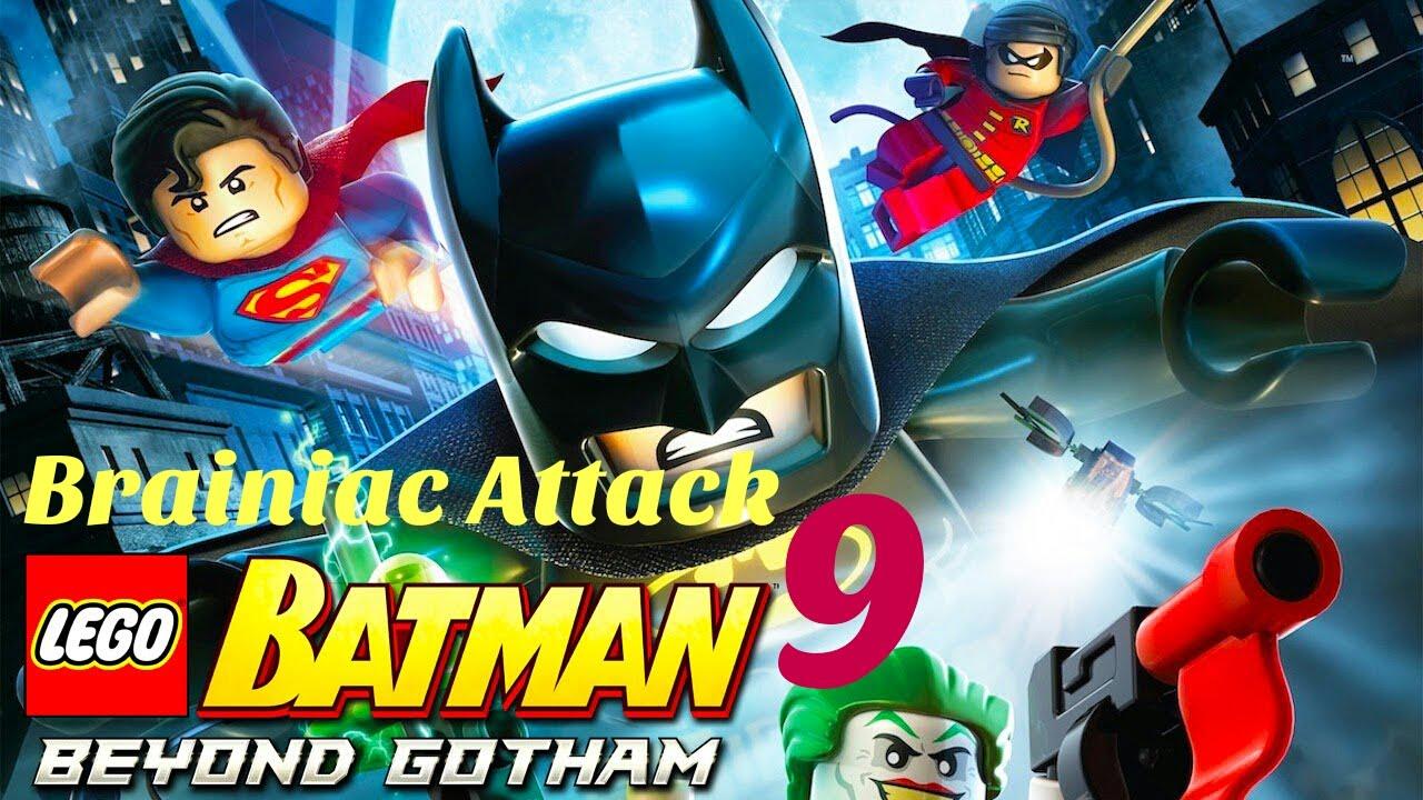 how to get brainiac in lego batman 2
