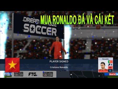 Dream League Soccer 2019 : Đá online Ra mắt Ronaldo #23