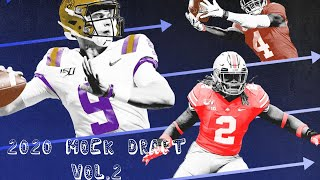 2020 NFL Mock Draft Vol. 2 (How will Mccarthy afffect the Draft)