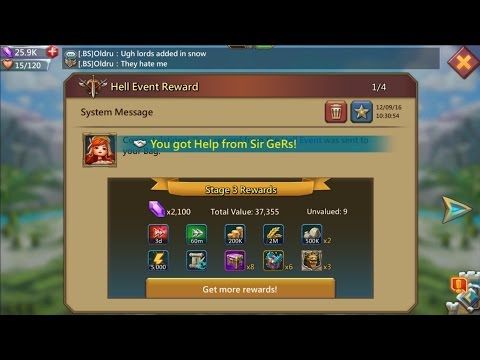 Lords Mobile How To Get Watcher ( Free To Play )