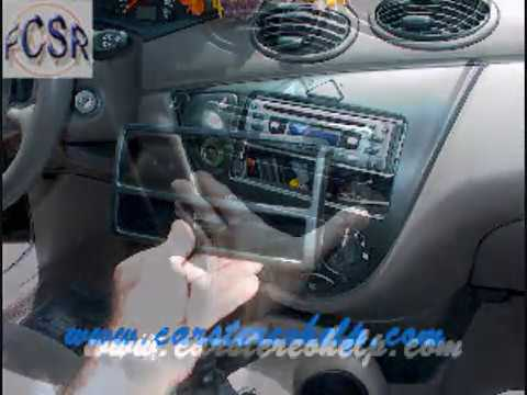 Ford Focus Aftermarket Radio Installation - YouTube