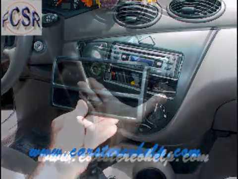 ford focus aftermarket radio installation