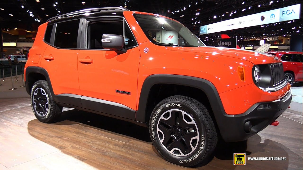 2015 jeep renegade trailhawk exterior and interior - Jeep renegade trailhawk interior ...
