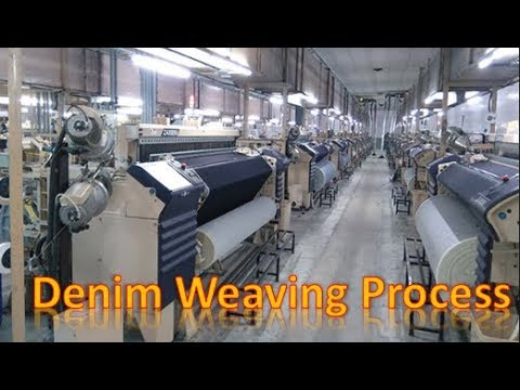 Download Denim Fabric Weaving Process In Air Jet Loom  ||  Warp yarn path, Weft Insertion, Weft Replacement