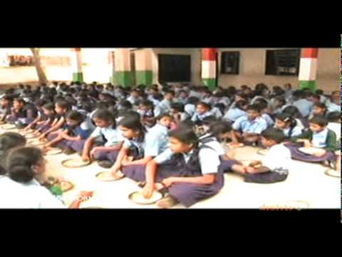 BBC world news features World's Largest Mid Day Meal Programme
