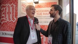 Prof. Bruno Siciliano's interview - @ Maker Faire Rome 2018 - Il Messaggero TV - 13 Oct 2018